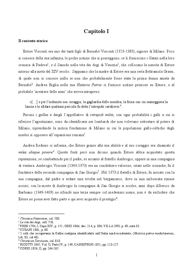 Anteprima della tesi: Le monete di Estore Visconti per Monza (1407-1413), Pagina 3