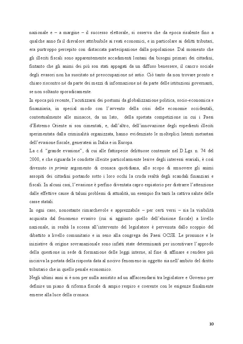 Anteprima della tesi: Il fenomeno dell'esterovestizione: profili penali, Pagina 3