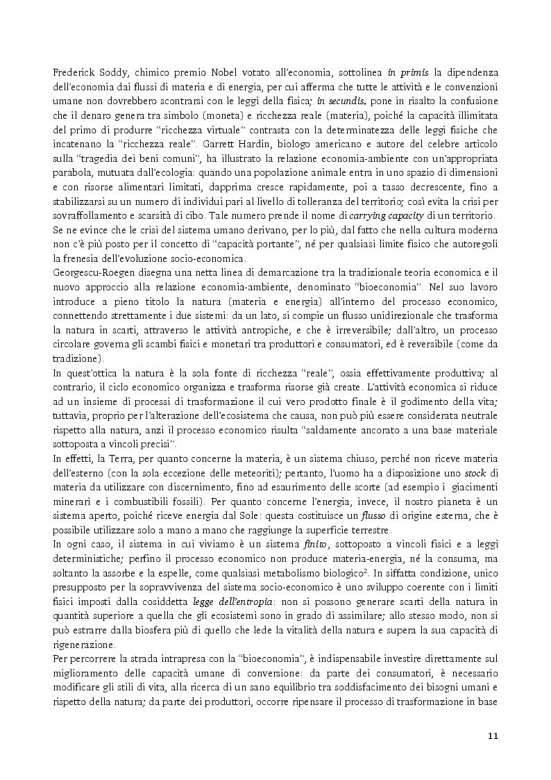 Estratto dalla tesi: Gli strumenti volontari per la rendicontazione delle performance ambientali delle imprese