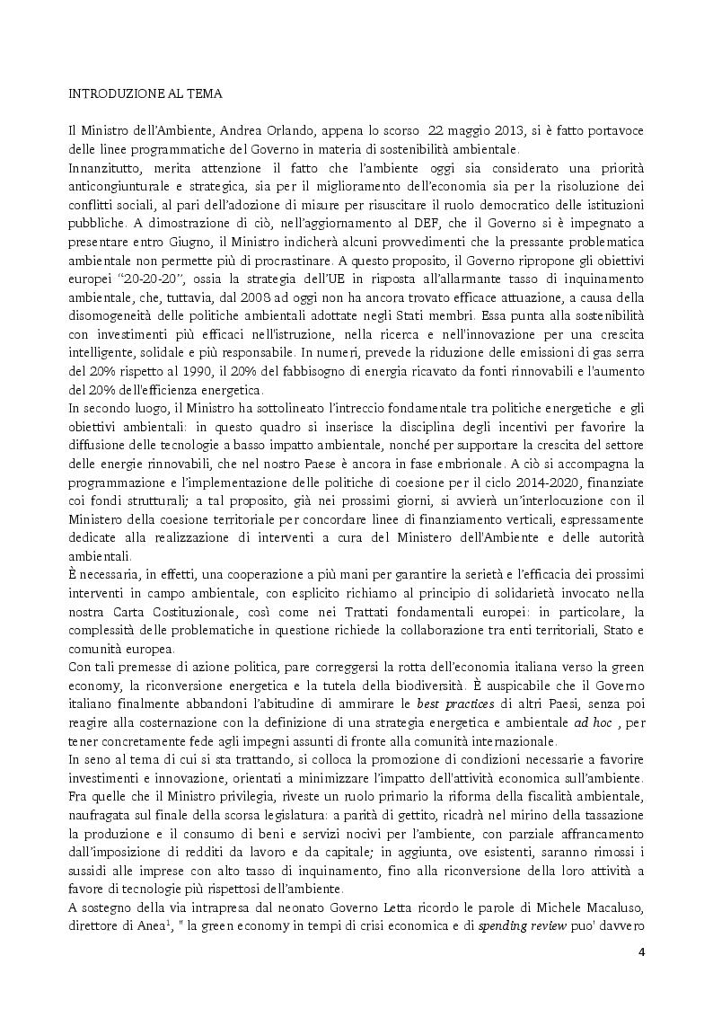 Anteprima della tesi: Gli strumenti volontari per la rendicontazione delle performance ambientali delle imprese, Pagina 2