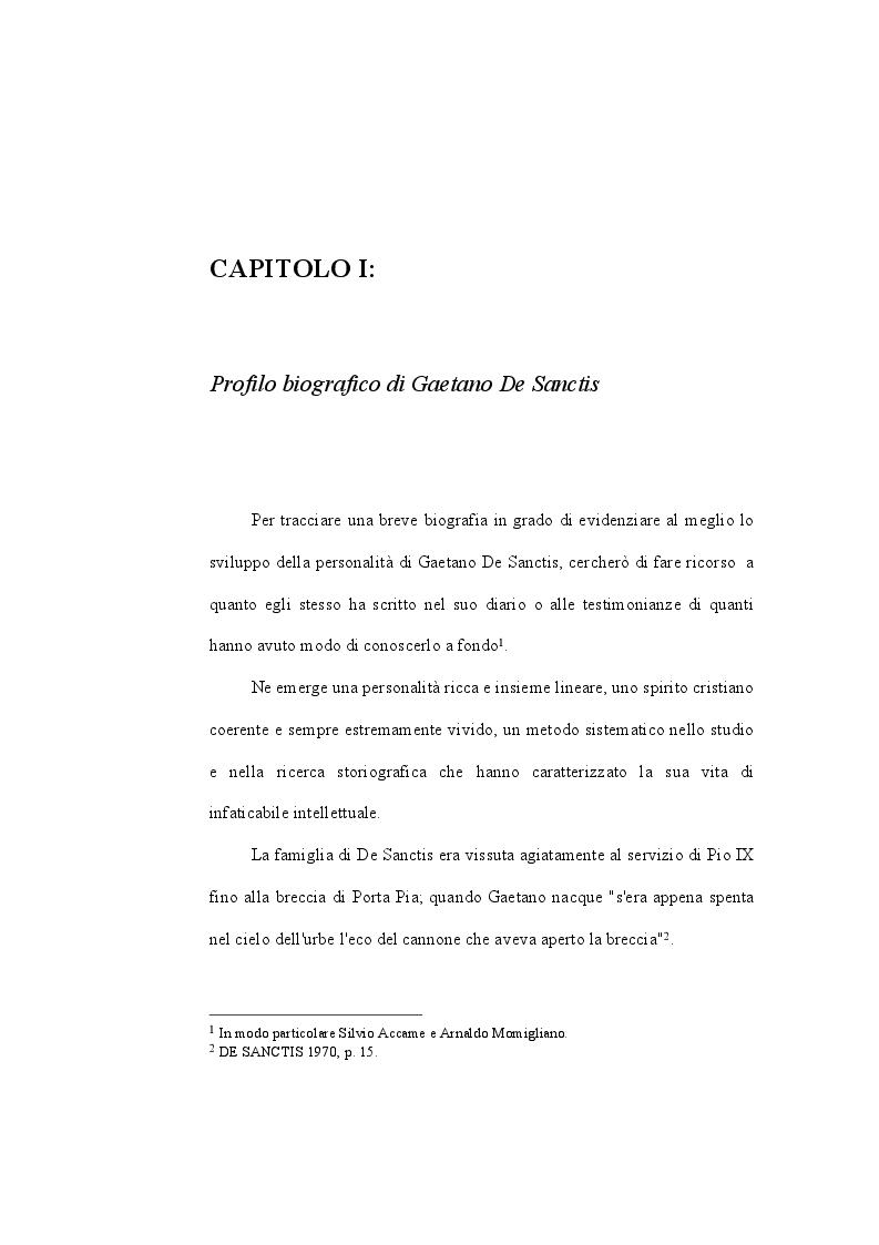 Anteprima della tesi: Gaetano De Sanctis e la storiografia greca: Ecateo, Erodoto e Tucidide, Pagina 6