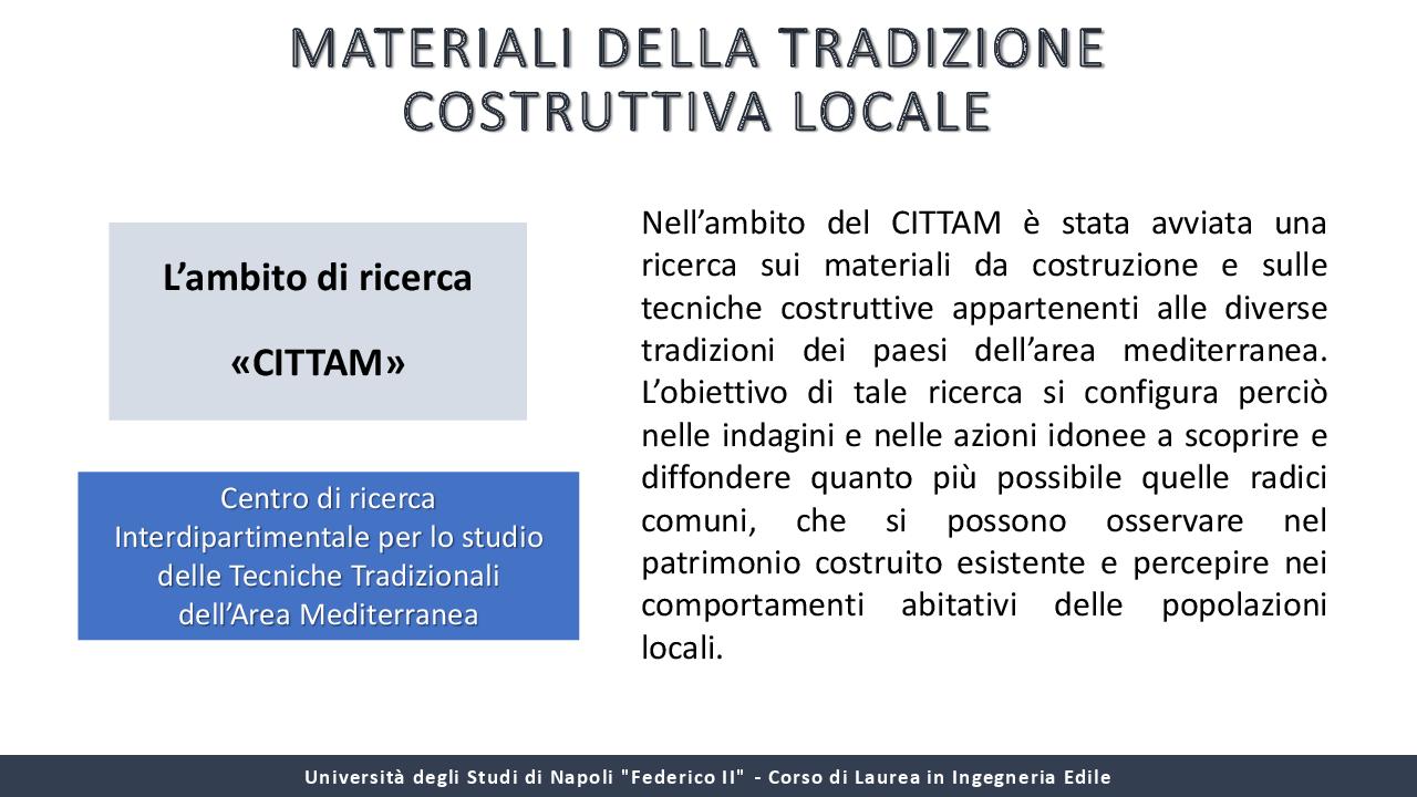 Anteprima della tesi: I materiali locali nella tradizione costruttiva dell'Italia meridionale, Pagina 3
