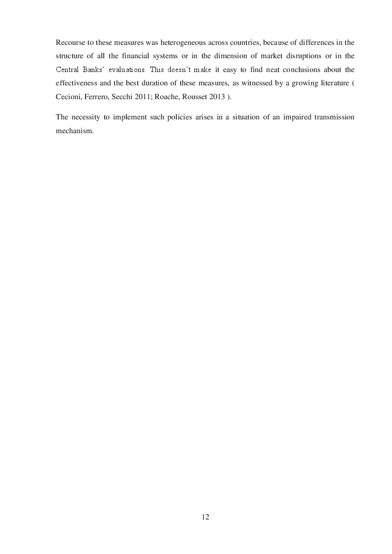 Anteprima della tesi: Quantitative Easing by the ECB and the Federal Reserve, Pagina 8