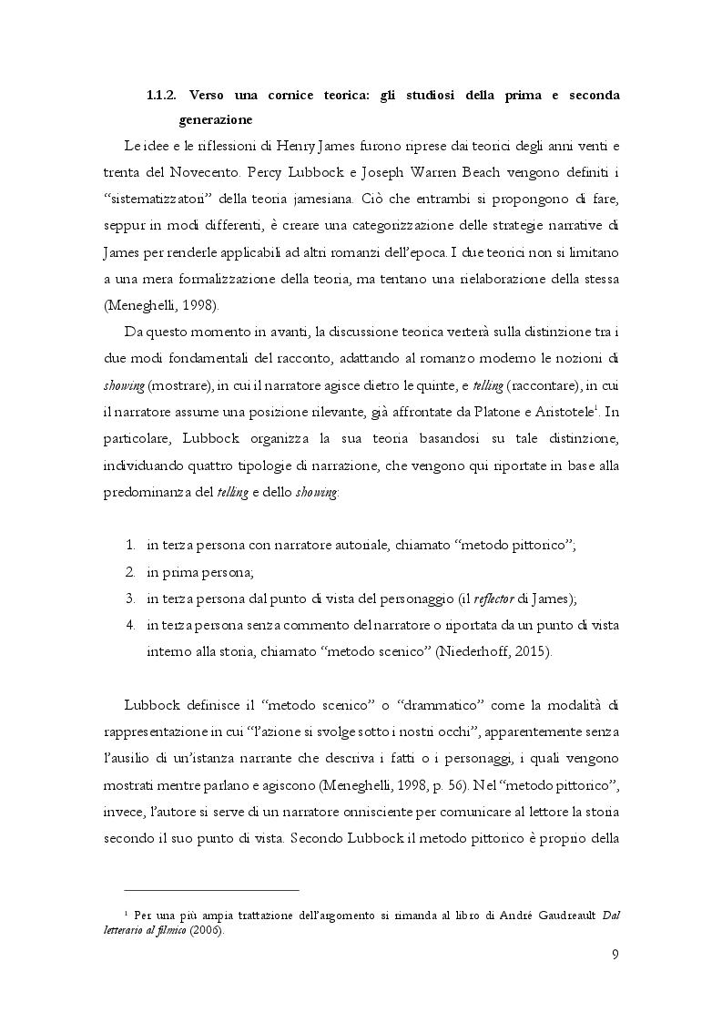 Anteprima della tesi: Questioni di punto di vista. Dalla letteratura al cinema d'animazione Disney, Pagina 10