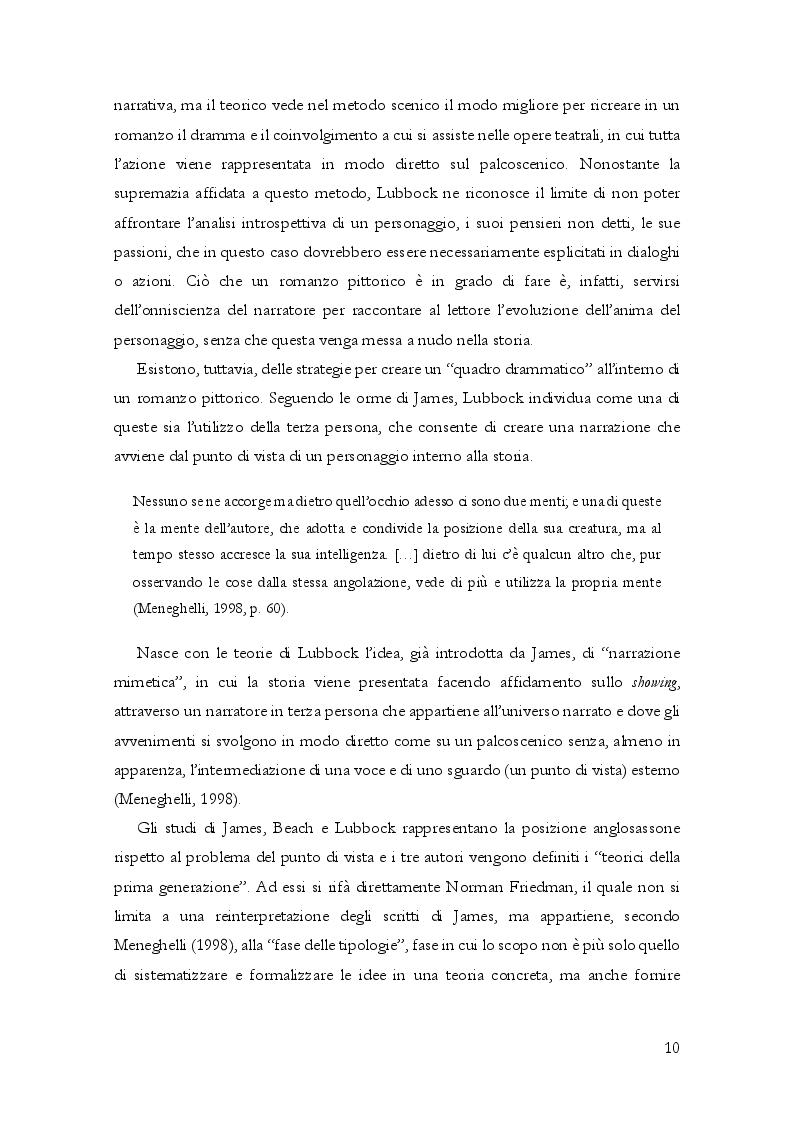 Anteprima della tesi: Questioni di punto di vista. Dalla letteratura al cinema d'animazione Disney, Pagina 11