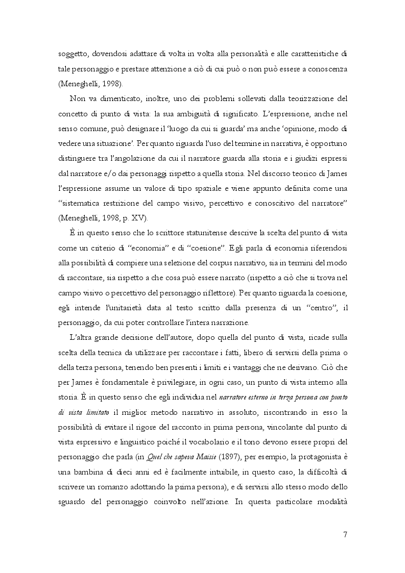 Anteprima della tesi: Questioni di punto di vista. Dalla letteratura al cinema d'animazione Disney, Pagina 8