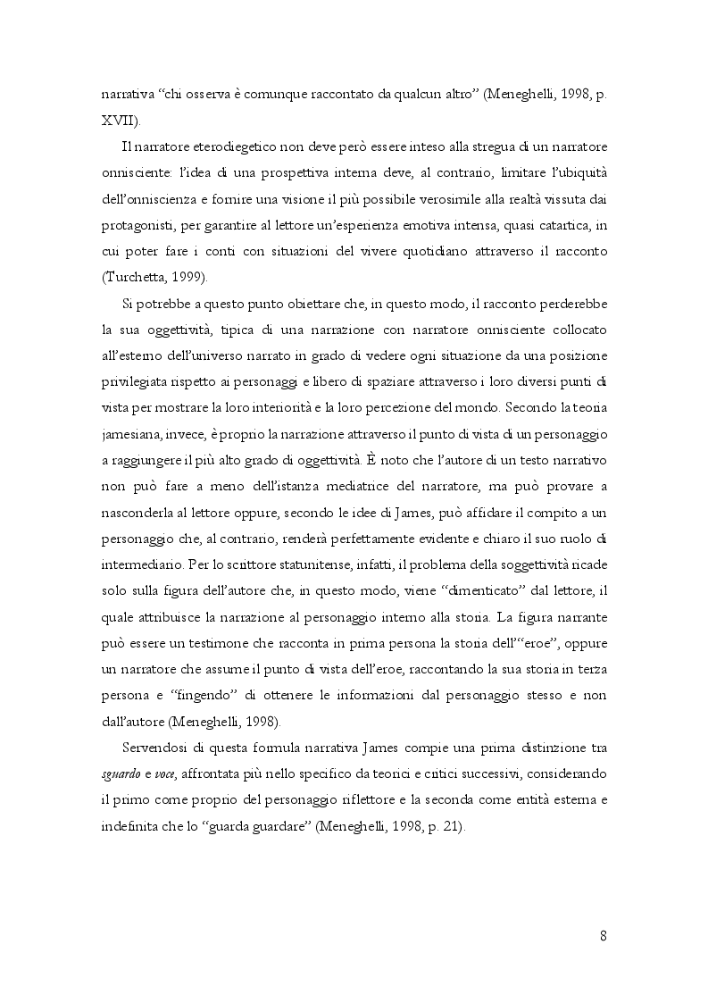 Anteprima della tesi: Questioni di punto di vista. Dalla letteratura al cinema d'animazione Disney, Pagina 9