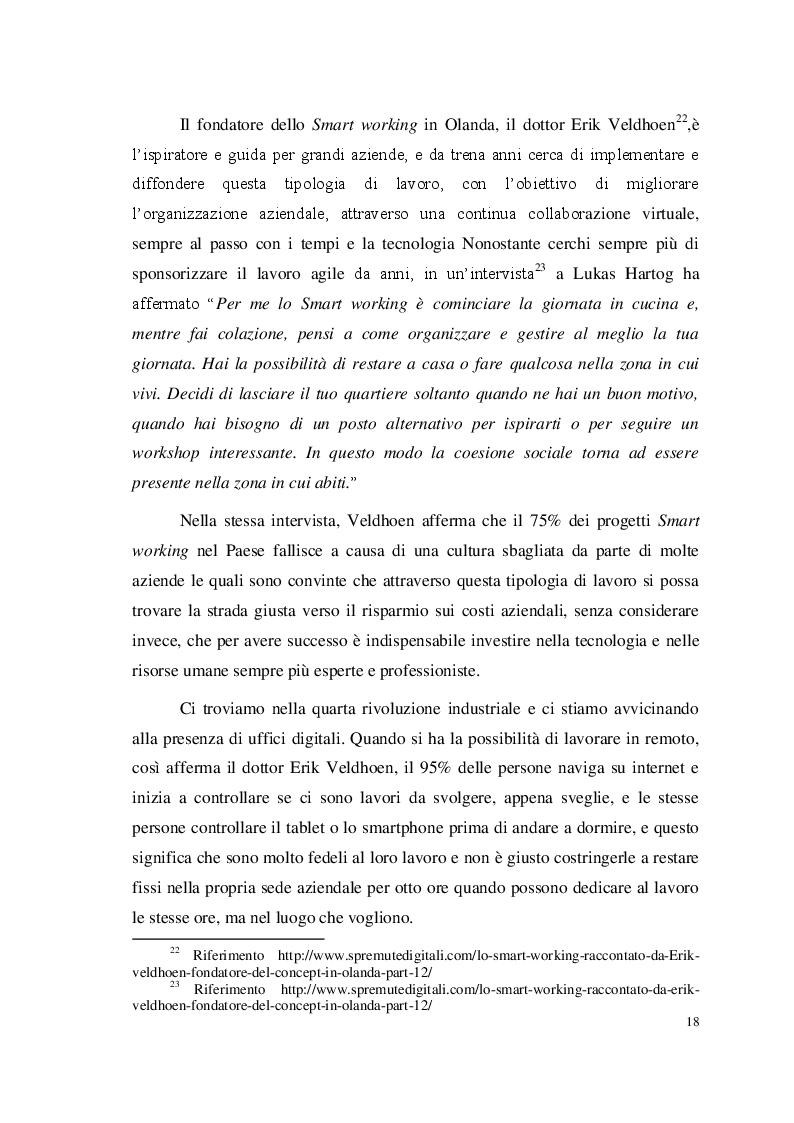 """Anteprima della tesi: Lo Smart working nella Pubblica Amministrazione: il progetto """"Be MEF Be Smart"""" del Dipartimento delle Finanze, Pagina 10"""
