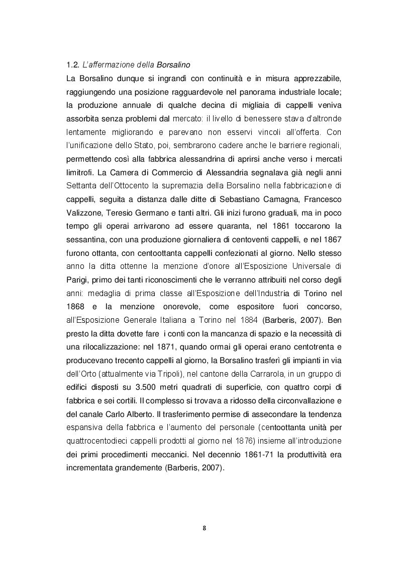 """Anteprima della tesi: """"La va…ca d'Bursalen"""": Le operaie della fabbrica Borsalino di Alessandria tra visione maschilista ed emancipazione., Pagina 6"""