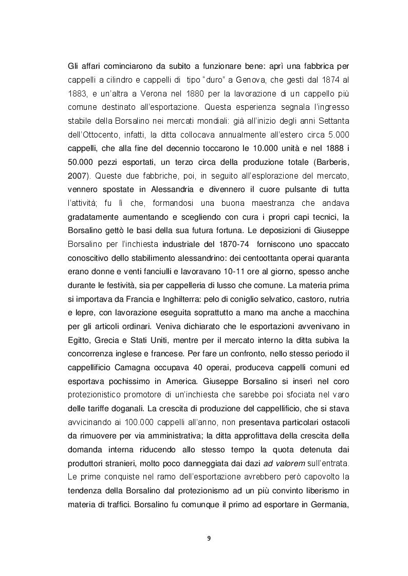 """Anteprima della tesi: """"La va…ca d'Bursalen"""": Le operaie della fabbrica Borsalino di Alessandria tra visione maschilista ed emancipazione., Pagina 7"""
