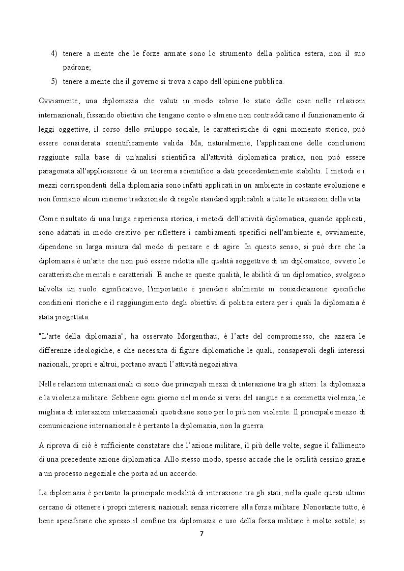 Estratto dalla tesi: La figura del carabiniere all'estero: il ruolo militare e diplomatico