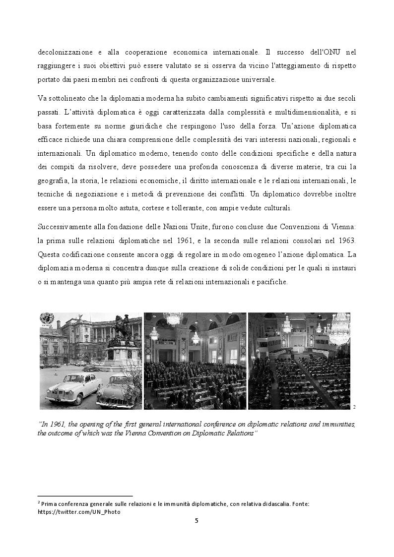 Anteprima della tesi: La figura del carabiniere all'estero: il ruolo militare e diplomatico, Pagina 6