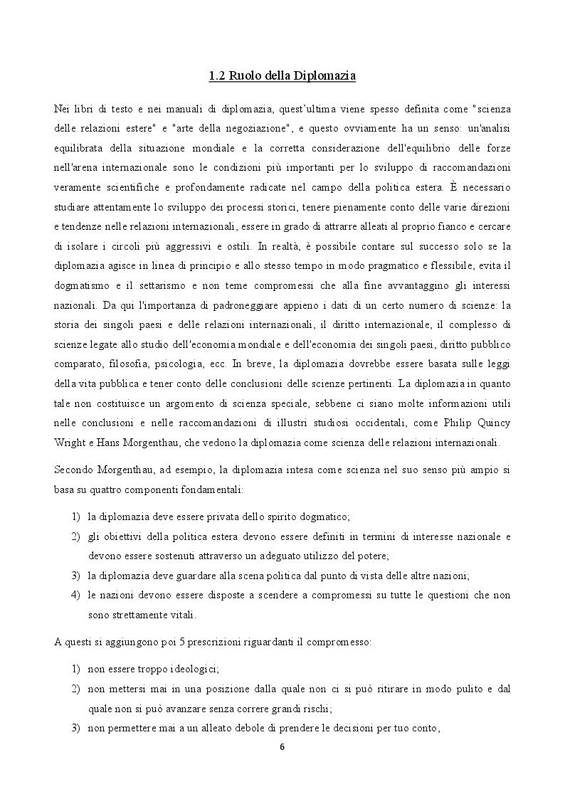 Anteprima della tesi: La figura del carabiniere all'estero: il ruolo militare e diplomatico, Pagina 7