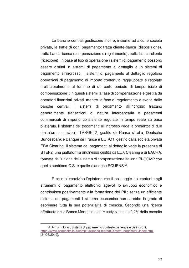 Estratto dalla tesi: Payment Services Directive 2: opportunità o minaccia per le banche?