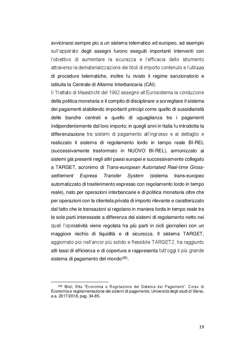 Anteprima della tesi: Payment Services Directive 2: opportunità o minaccia per le banche?, Pagina 7