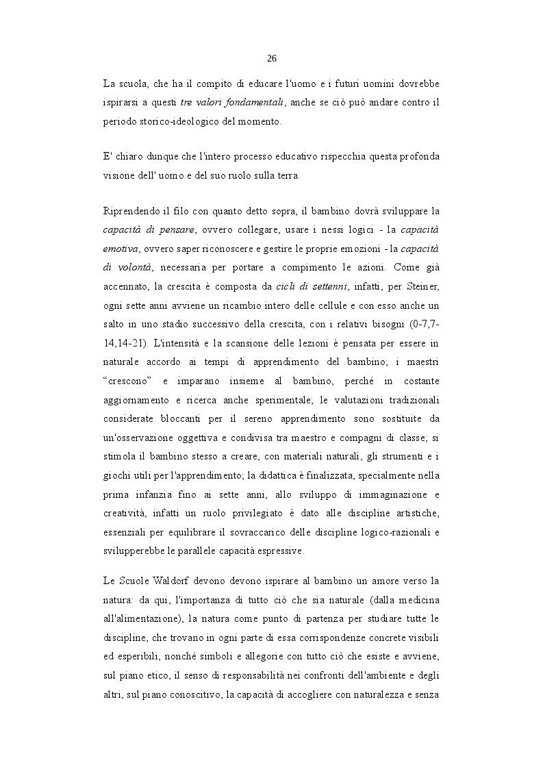 Anteprima della tesi: L'Ecopedagogia e il suo ruolo in Steiner e Montessori, Pagina 3