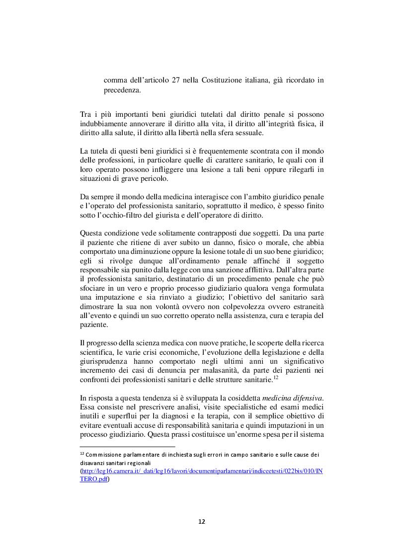 Anteprima della tesi: Nelle mani del dottorino. Le responsabilità del medico in formazione specialistica, Pagina 4