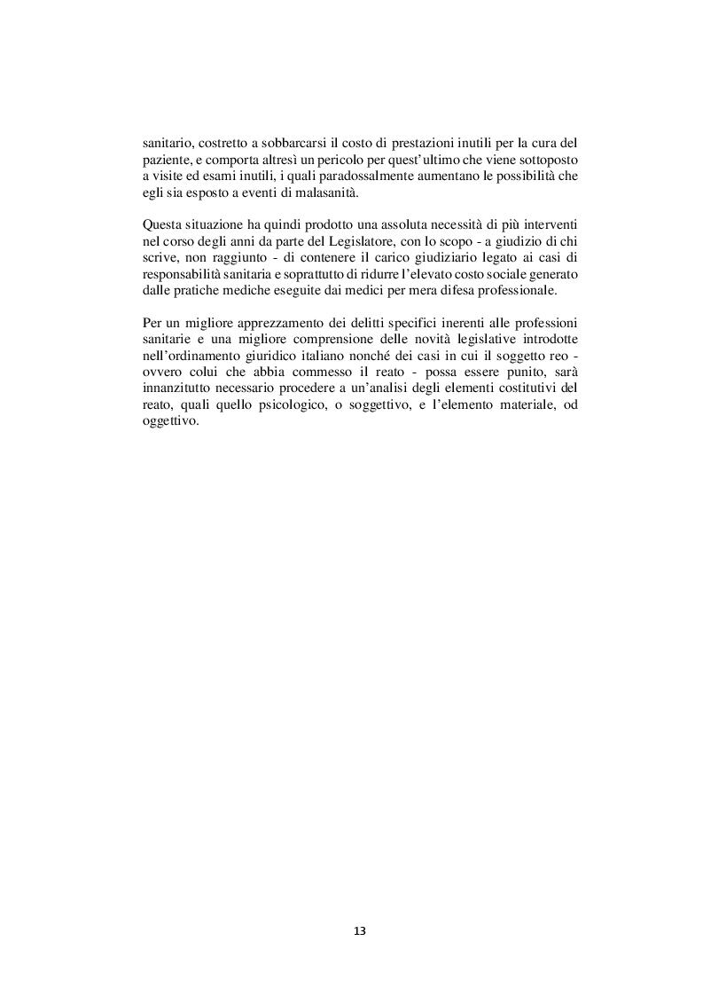Anteprima della tesi: Nelle mani del dottorino. Le responsabilità del medico in formazione specialistica, Pagina 5