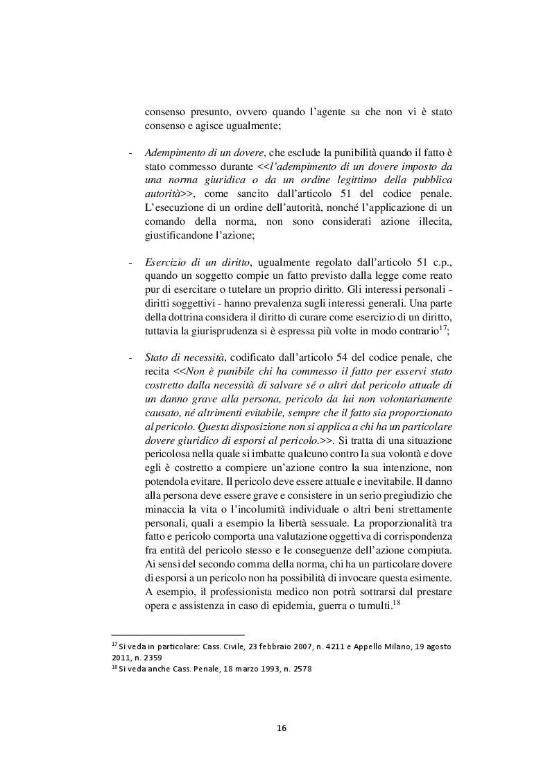 Anteprima della tesi: Nelle mani del dottorino. Le responsabilità del medico in formazione specialistica, Pagina 8