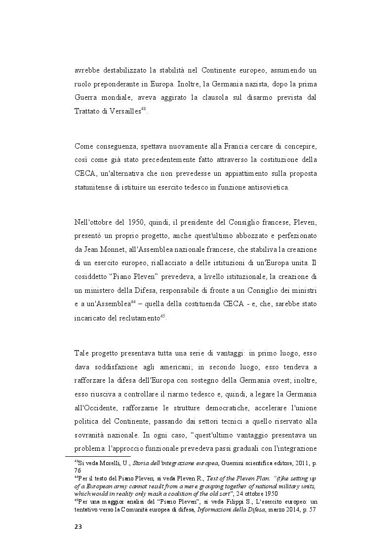 Estratto dalla tesi: Il rafforzamento delle capacità delle relazioni internazionali dell'Unione Europea dopo il Trattato di Lisbona