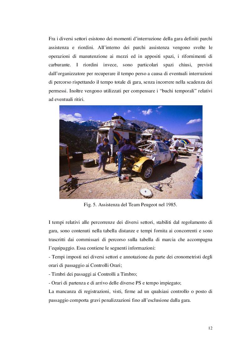 Anteprima della tesi: Organizzare un evento sportivo - 1° Rally Valli Monregalesi, Pagina 7