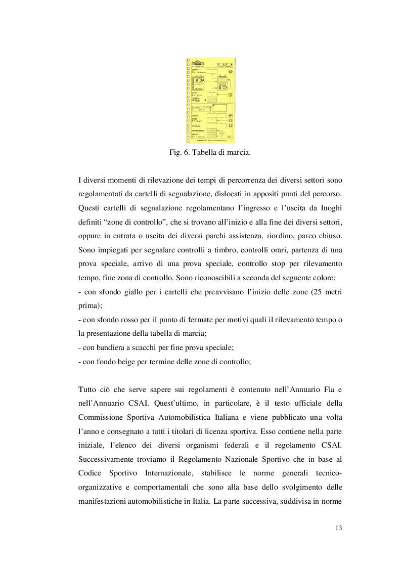 Anteprima della tesi: Organizzare un evento sportivo - 1° Rally Valli Monregalesi, Pagina 8