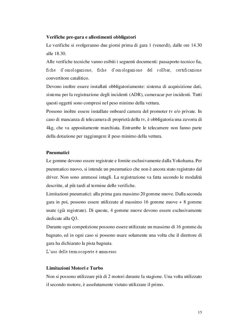 Anteprima della tesi: La gestione di un team automobilistico: Jas Motorsport nel World Touring Car Championship, Pagina 8