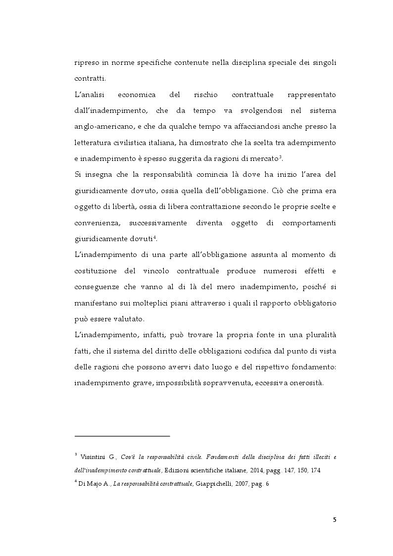 Anteprima della tesi: Tipologie di risarcimento del danno contrattuale. Profili di diritto comparato, Pagina 4