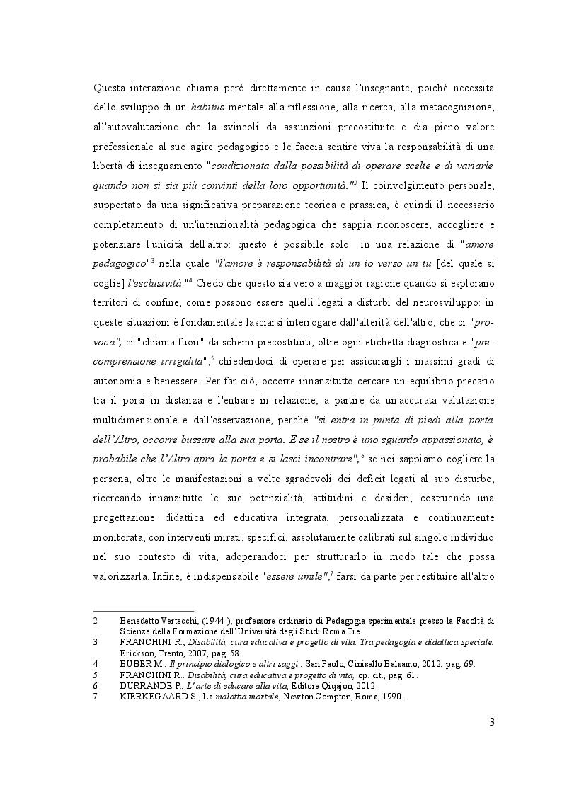 Anteprima della tesi: UN, DUE, TRE … START! Spunti montessoriani ed elementi di contesto in gioco per  l'inclusione, Pagina 3