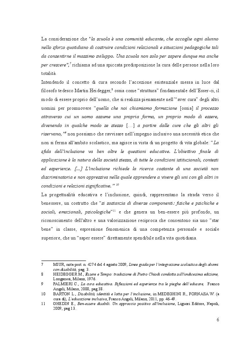Anteprima della tesi: UN, DUE, TRE … START! Spunti montessoriani ed elementi di contesto in gioco per  l'inclusione, Pagina 6