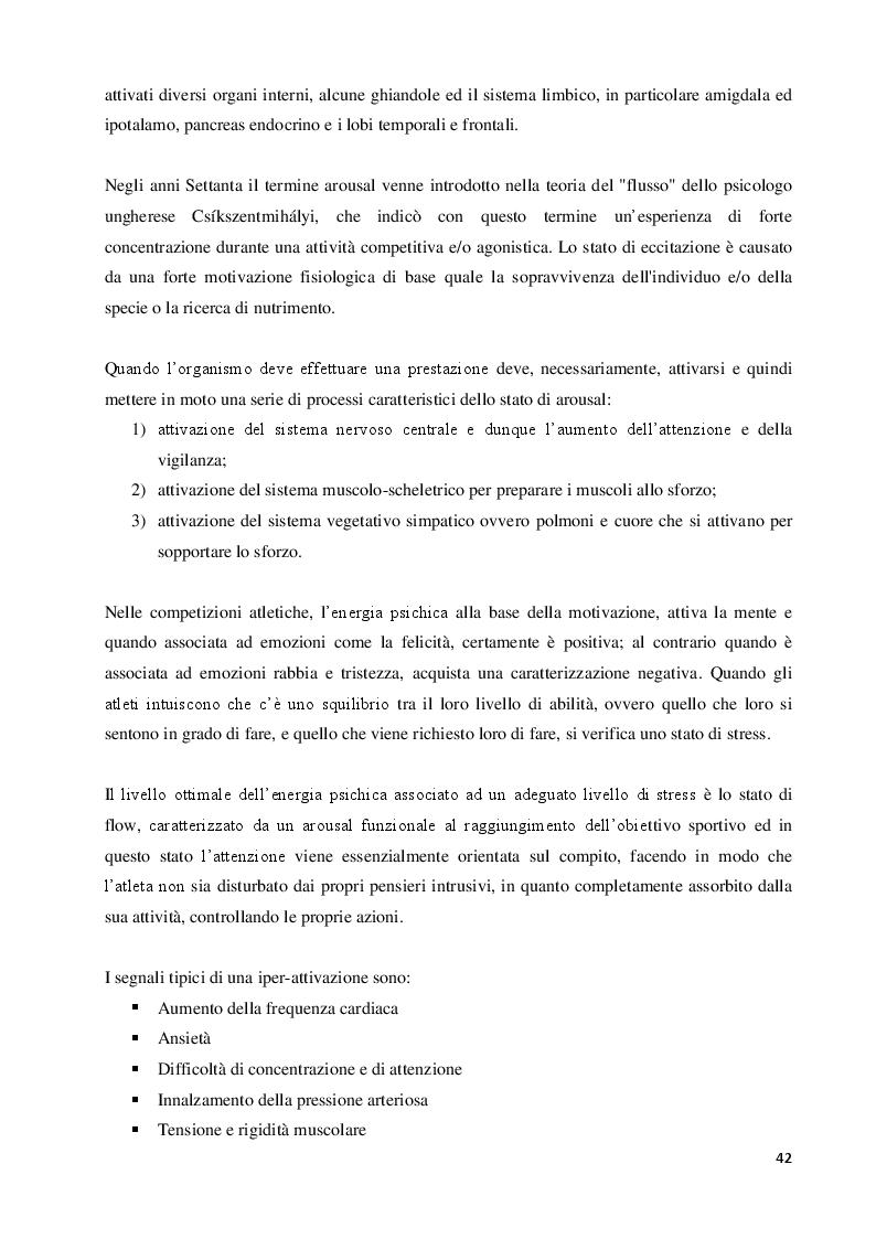 Anteprima della tesi: Imagery nello Sport. Ricerca empirica sull'esperienza di atleti disabili motori, Pagina 3