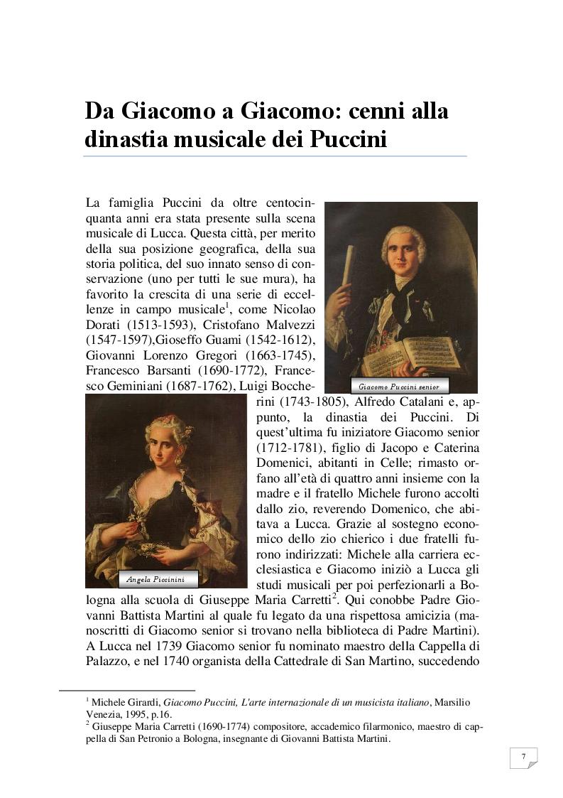 Anteprima della tesi: Celle - Milano prima tappa Le Villi. Giacomo Puccini e la sua prima opera, Pagina 4