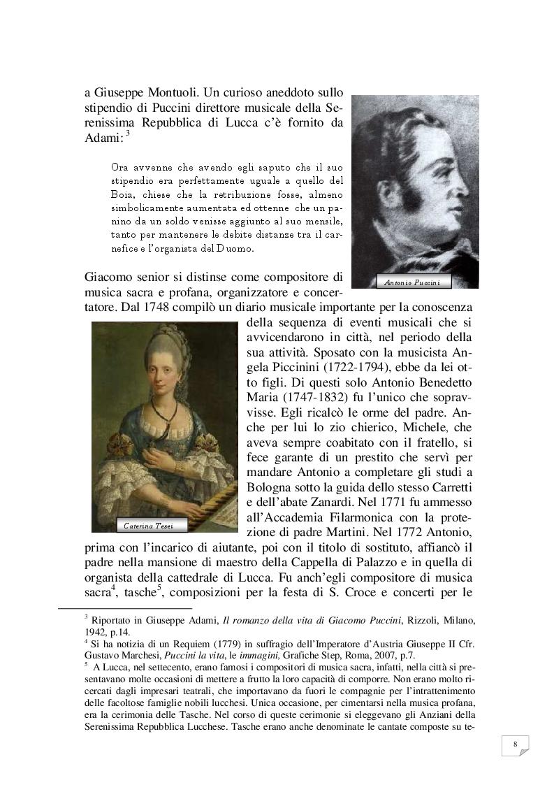 Anteprima della tesi: Celle - Milano prima tappa Le Villi. Giacomo Puccini e la sua prima opera, Pagina 5
