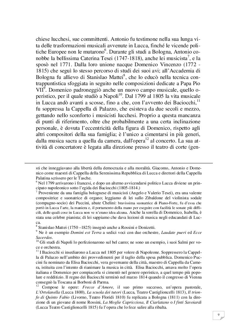 Anteprima della tesi: Celle - Milano prima tappa Le Villi. Giacomo Puccini e la sua prima opera, Pagina 6