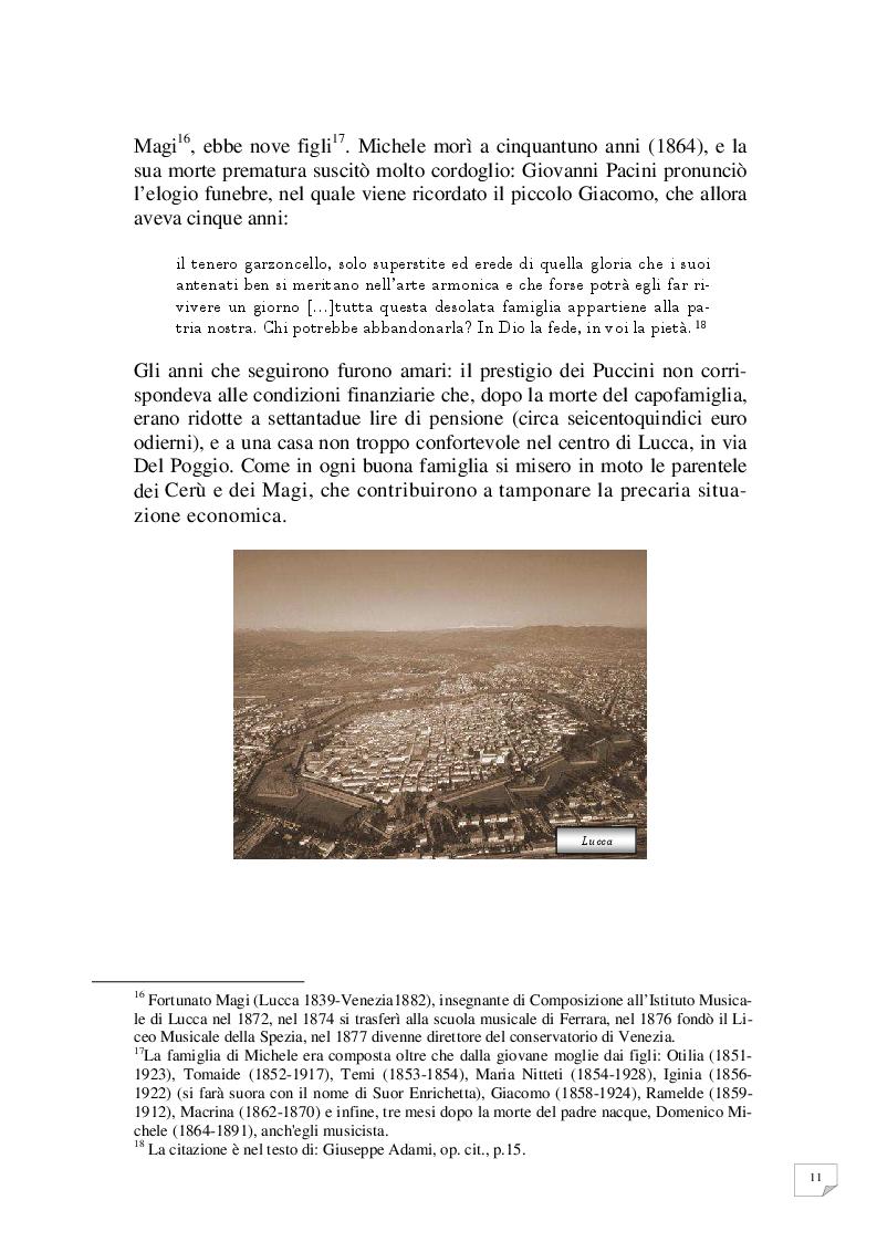 Anteprima della tesi: Celle - Milano prima tappa Le Villi. Giacomo Puccini e la sua prima opera, Pagina 8