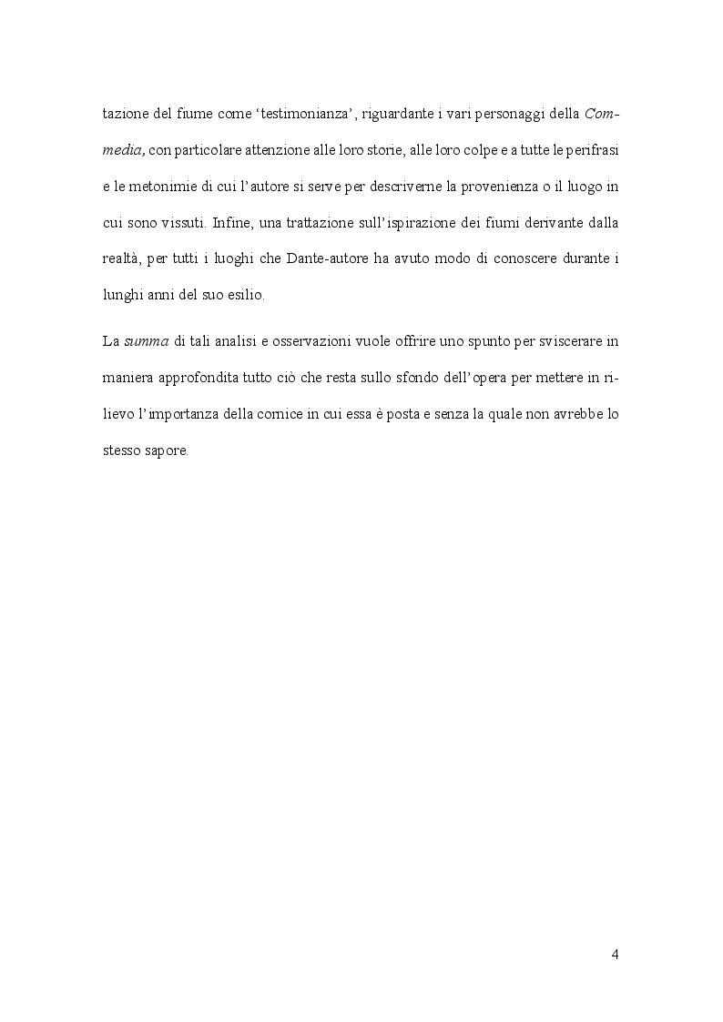 Anteprima della tesi: Aspetti e problemi dell'idrografia dantesca, Pagina 4