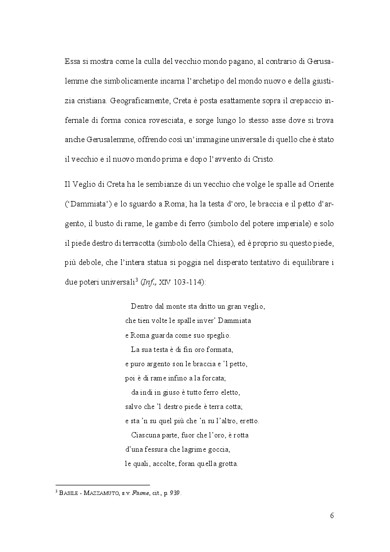 Anteprima della tesi: Aspetti e problemi dell'idrografia dantesca, Pagina 6