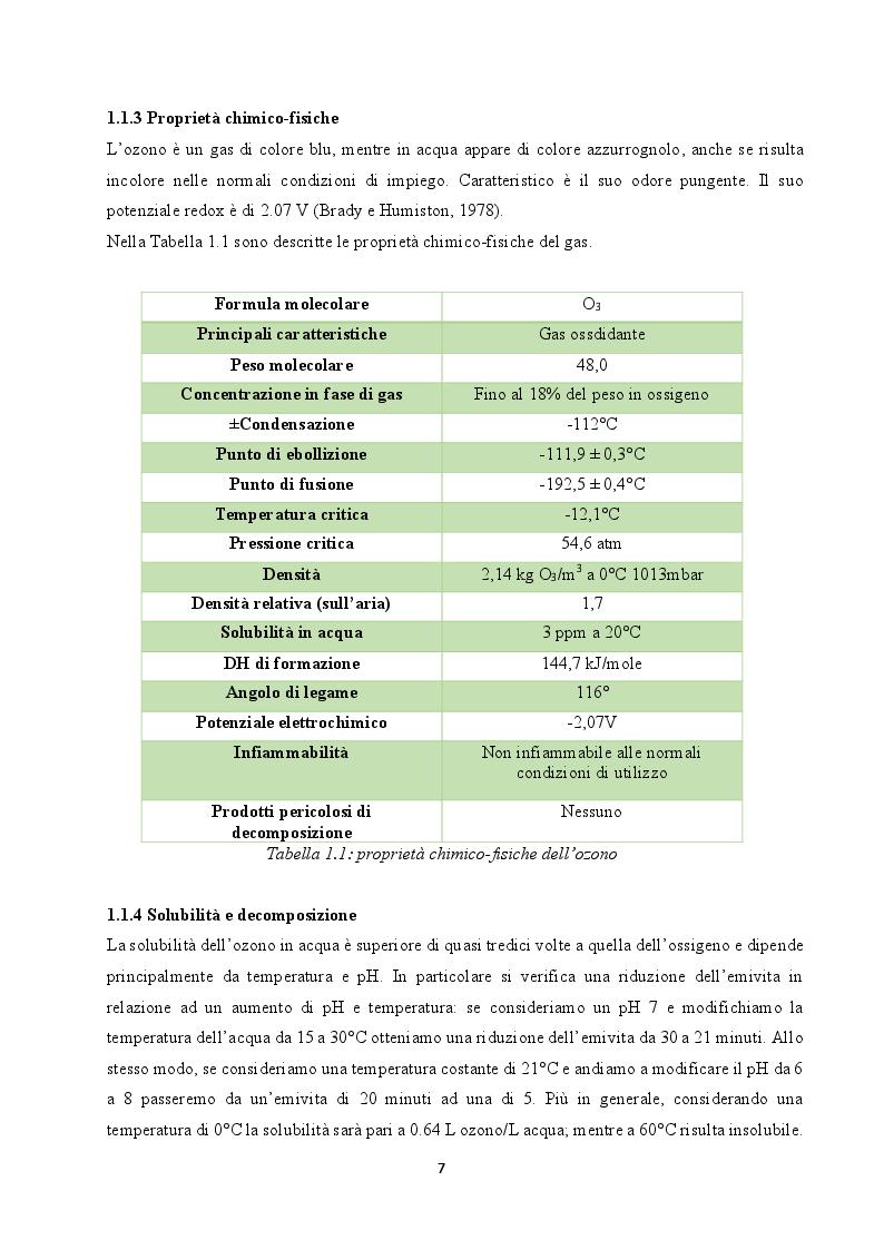 Anteprima della tesi: Utilizzo dell'ozono per il trattamento di alimenti conservati in frigorifero domestico, Pagina 5