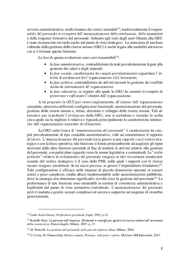 Anteprima della tesi: La Linea Sottile tra Flessibilità e Precariato: gli effetti del lavoro flessibile sulle risorse umane, Pagina 5