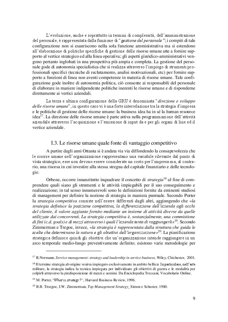 Anteprima della tesi: La Linea Sottile tra Flessibilità e Precariato: gli effetti del lavoro flessibile sulle risorse umane, Pagina 6