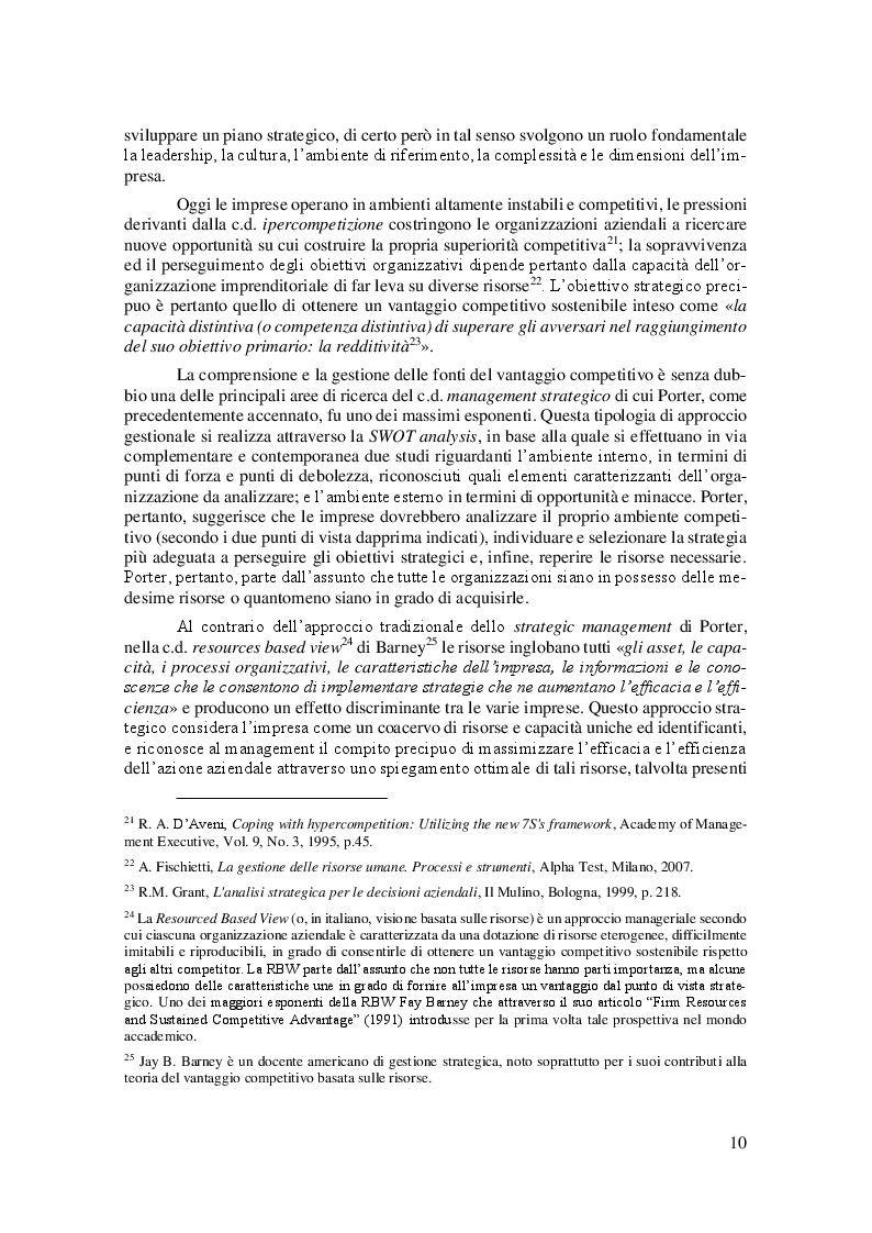 Anteprima della tesi: La Linea Sottile tra Flessibilità e Precariato: gli effetti del lavoro flessibile sulle risorse umane, Pagina 7