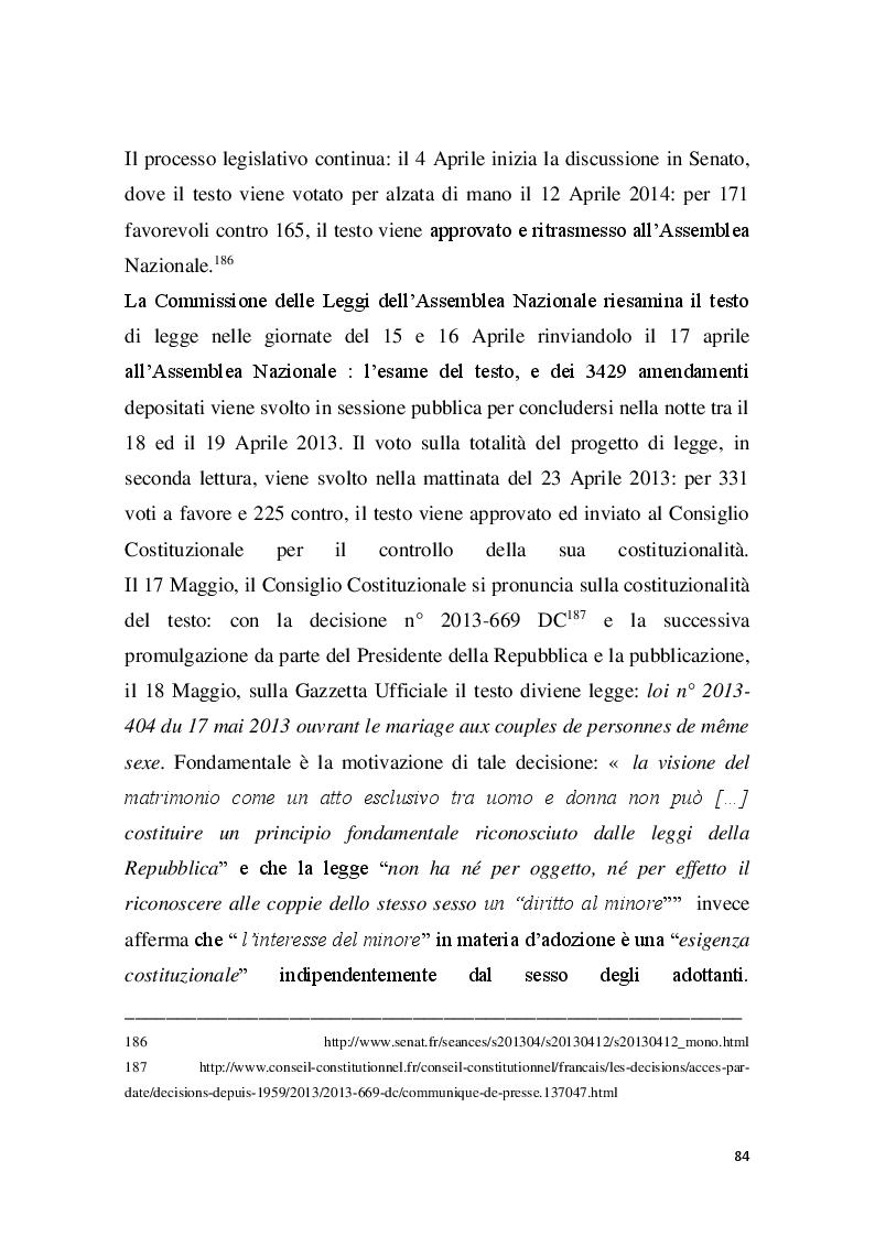 Anteprima della tesi: Familles pour tous? Famiglie omogenitoriali e società dopo l'introduzione della 404/13: testimonianze dalla regione Provence Alpes - Cote d'Azur, Pagina 12