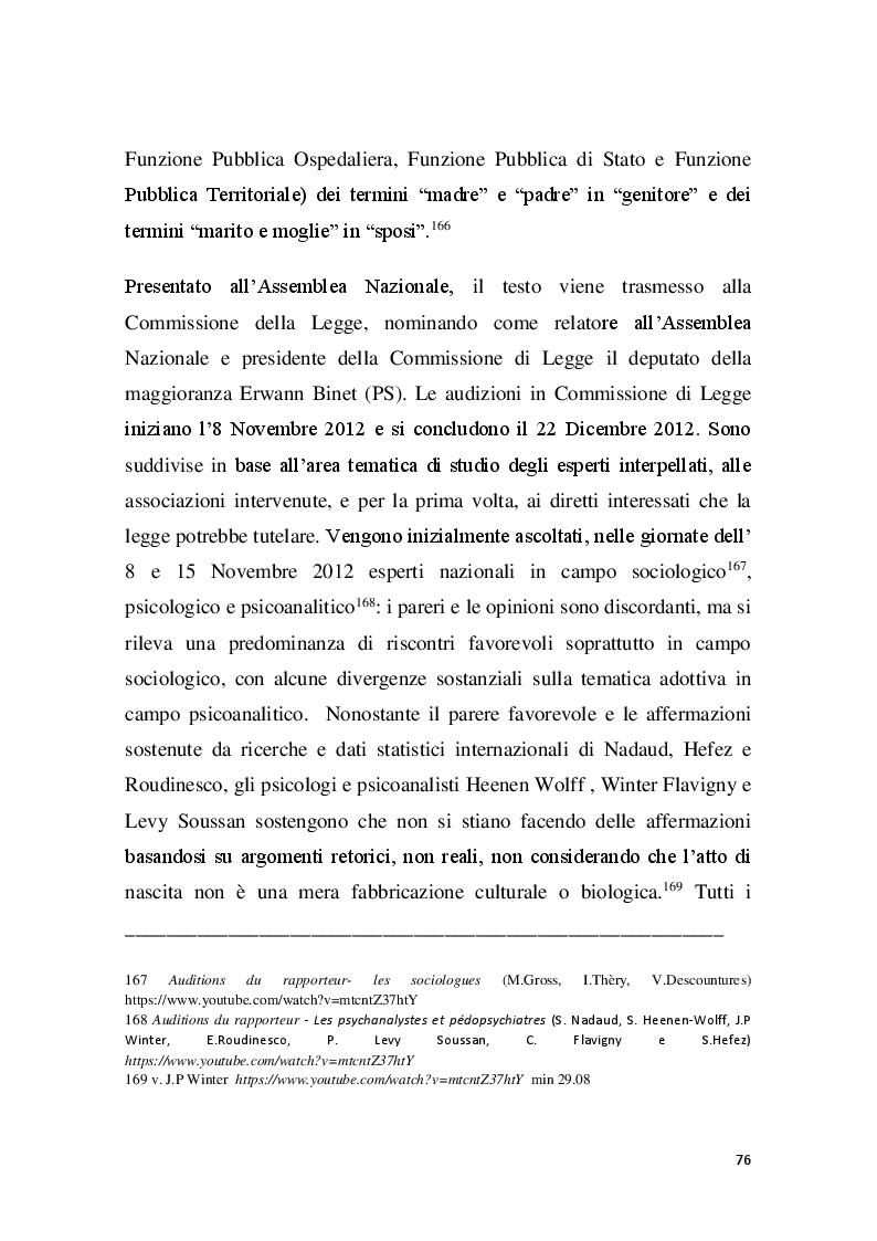 Anteprima della tesi: Familles pour tous? Famiglie omogenitoriali e società dopo l'introduzione della 404/13: testimonianze dalla regione Provence Alpes - Cote d'Azur, Pagina 4