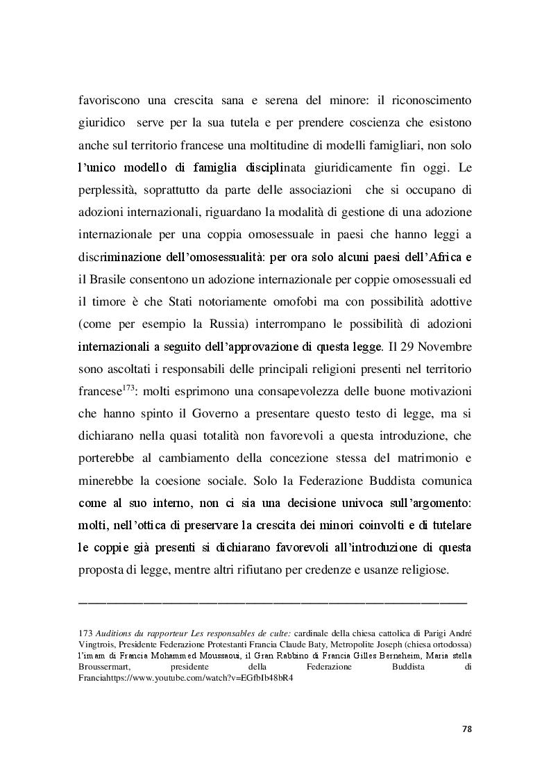 Anteprima della tesi: Familles pour tous? Famiglie omogenitoriali e società dopo l'introduzione della 404/13: testimonianze dalla regione Provence Alpes - Cote d'Azur, Pagina 6