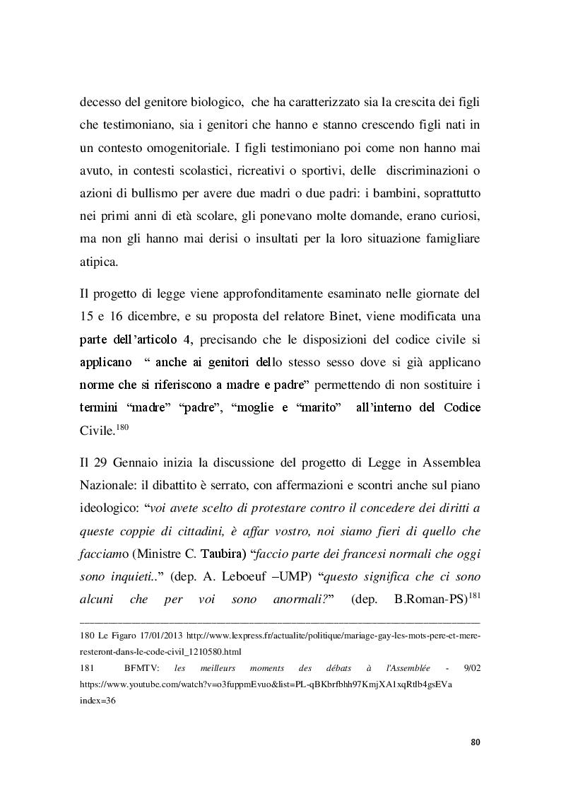 Anteprima della tesi: Familles pour tous? Famiglie omogenitoriali e società dopo l'introduzione della 404/13: testimonianze dalla regione Provence Alpes - Cote d'Azur, Pagina 8