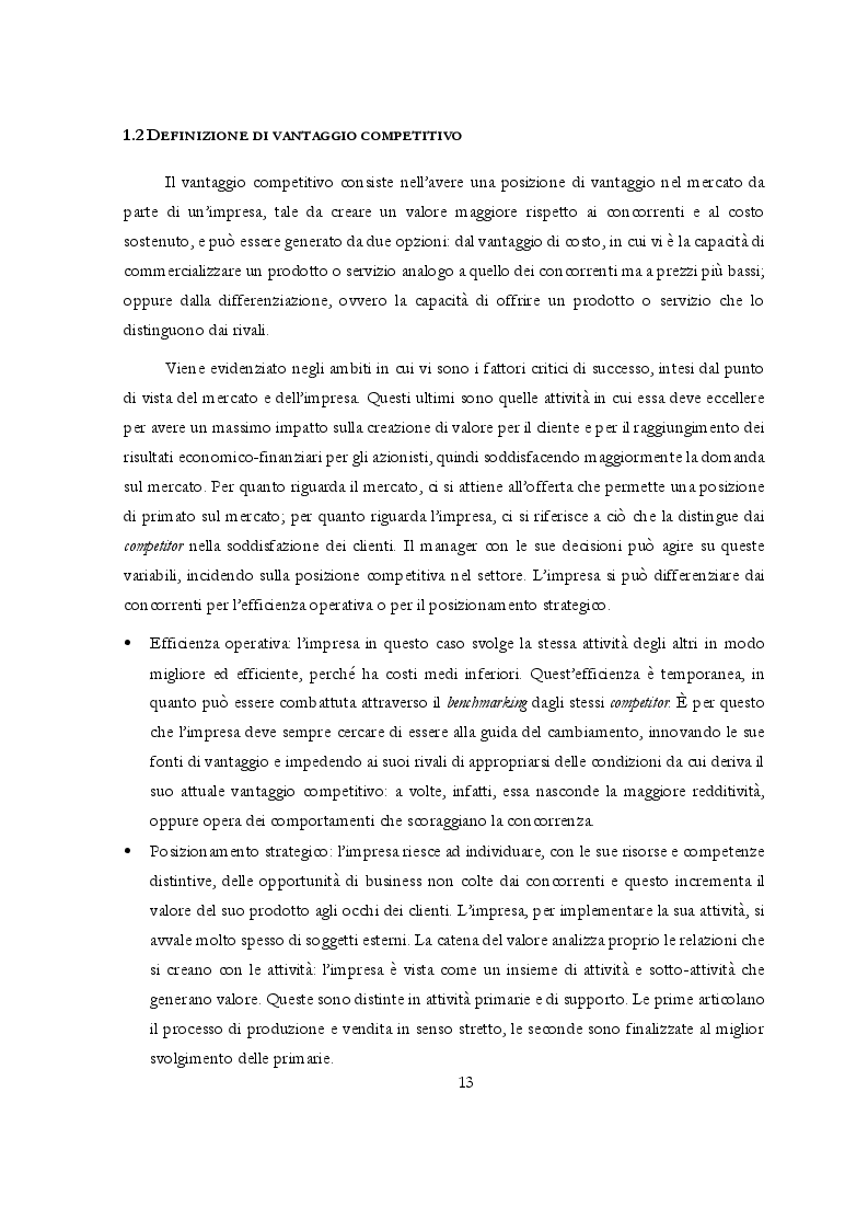 Anteprima della tesi: Potere di mercato e Abusi di posizione dominante: l'occhio vigile dell'Antitrust, Pagina 4