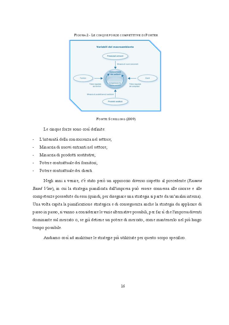 Anteprima della tesi: Potere di mercato e Abusi di posizione dominante: l'occhio vigile dell'Antitrust, Pagina 7