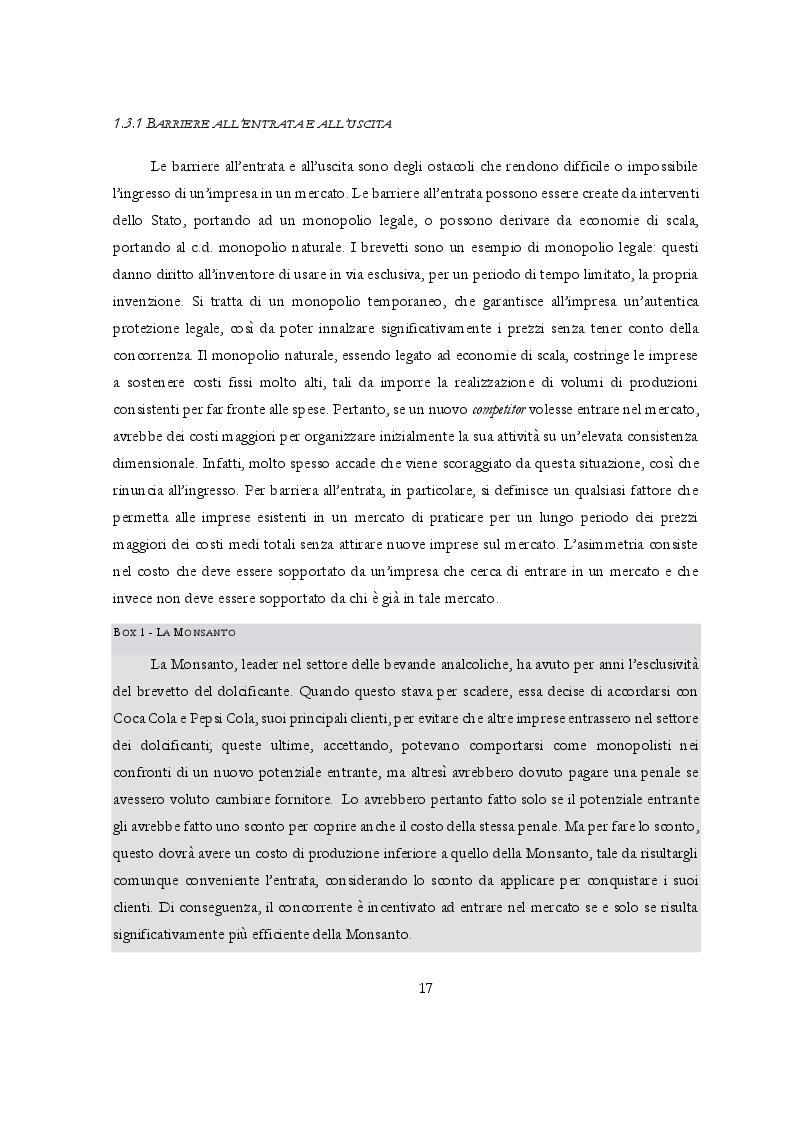 Anteprima della tesi: Potere di mercato e Abusi di posizione dominante: l'occhio vigile dell'Antitrust, Pagina 8