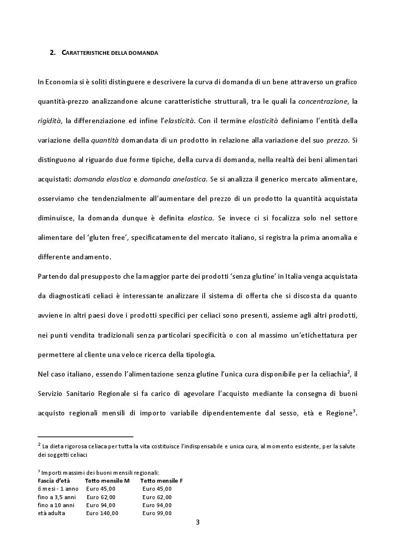 Anteprima della tesi: Il mercato del gluten free in Italia: un'opportunità di business per le imprese?, Pagina 4