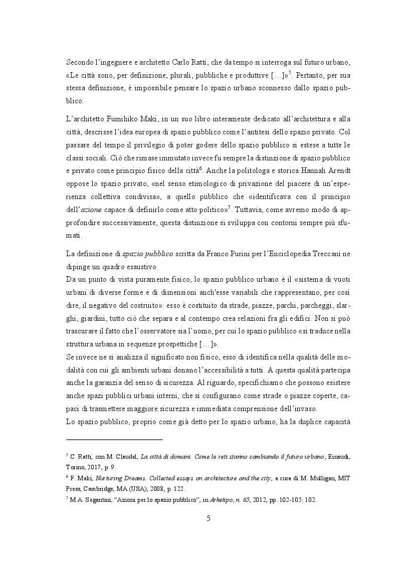 Anteprima della tesi: Gli attivatori urbani del benessere catanese, Pagina 6